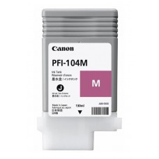 Canon Magenta Ink Tank     Dye PFI-104 M 130ml 3631B001